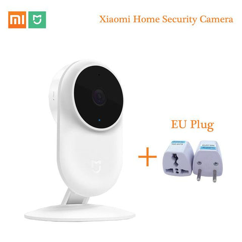 Original Xiaomi Mijia 1080P IP Camera 130 Degree FOV Night Vision Security Smart Camera 2.4Ghz Dual-band for Home Kit Mi Home Security Camera XIAOMI