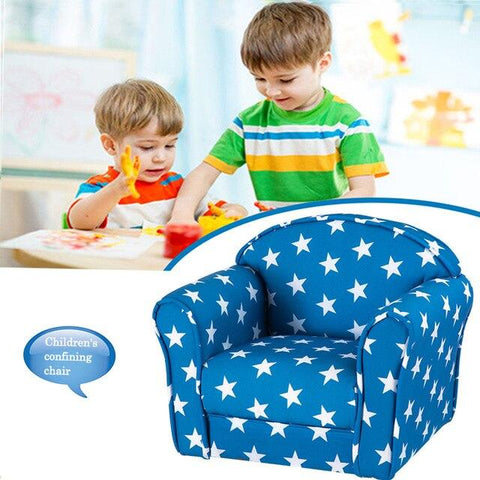 Children Cushioned Armrest Chair - esavy