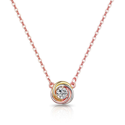 Swarovski Crystal Tri-Color Jewelry Set - esavy