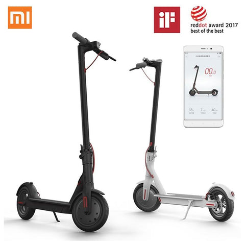 Xiaomi Mijia Electric Scooter M365 Smart E-Scooter Skateboard Mini Foldable Hoverboard Patinete Electrico Adult 30km Battery Electric Scooter XIAOMI