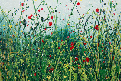 Adaptation, Royden Astrop, British artist, painter, wild grasses, grass painting, oil painting