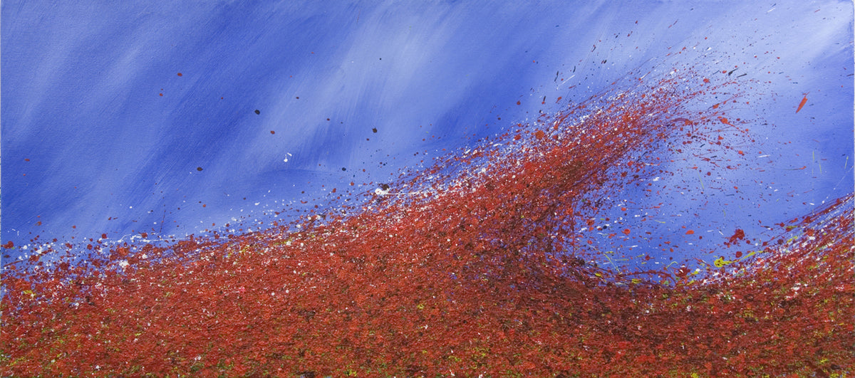 wave, Royden Astrop, British artist, painter, landscape painting, oil painting,