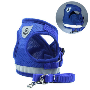 Polyester Mesh Pet Harness