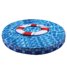 Load image into Gallery viewer, Summer 3D Print Round Pet Dog Cooling Pad Mats Breathable Sleeping Bed Mat for Small Dog Cats Portable Puppy Kennel