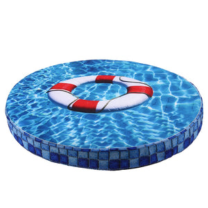 Summer 3D Print Round Pet Dog Cooling Pad Mats Breathable Sleeping Bed Mat for Small Dog Cats Portable Puppy Kennel