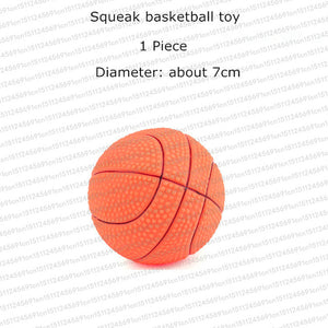 Rubber Squeak Dog Toys
