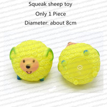 Load image into Gallery viewer, Rubber Squeak Dog Toys