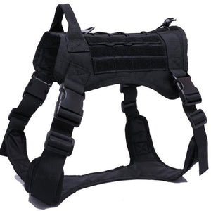 New ! Waterproof Military Police Dog Vest Harness