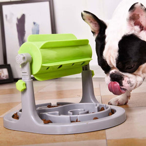 Interactive Slow Feeding Dispenser For Dogs