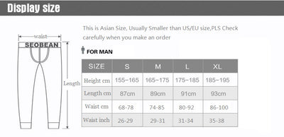 WINTER SEOBEAN 2017 NEW Men's sexy cotton denim fabric Long johns Low Rise Thermal Underpants