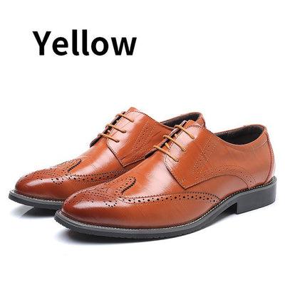 Shoes 100% Genuine Cow Leather Brogue Shoes Mens Casual Flats Shoes Vintage Handmade Sneaker Oxford Shoes For Men Spring Black Red