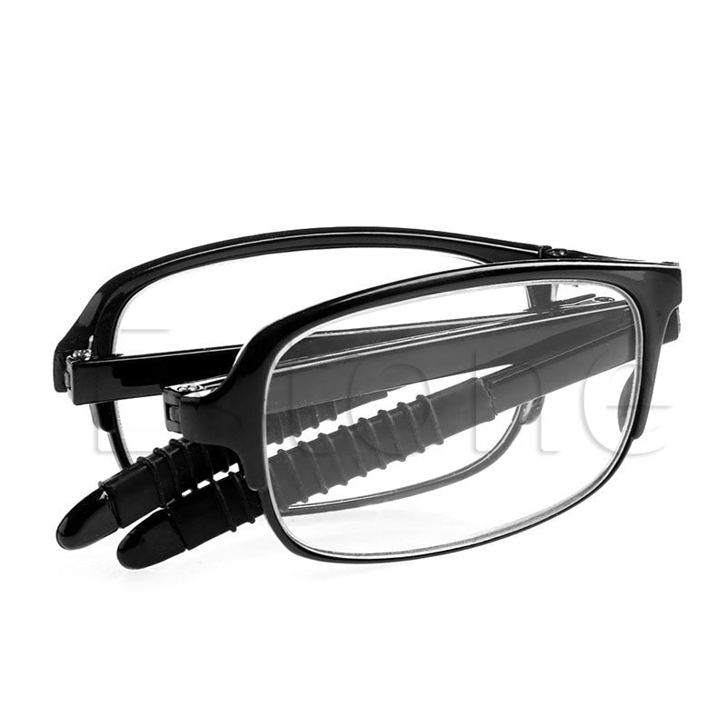 f0b28b68f1650 Unisex Folding Reading Glasses Eyeglass With Case +1.0 +1.5 +2.0 +2.5 +