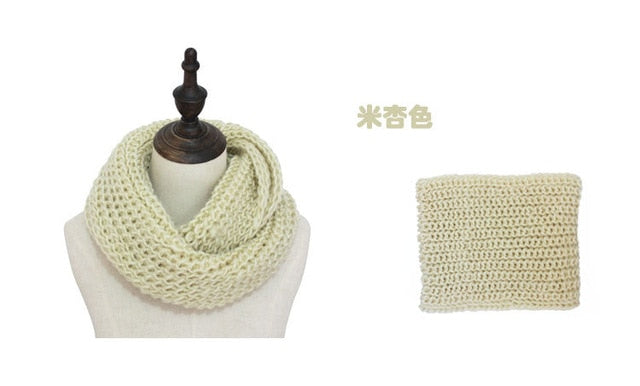 13 colors warm winter scarf scarves knitted women fashion neck wool cashmere scarves Pashmina Scarf