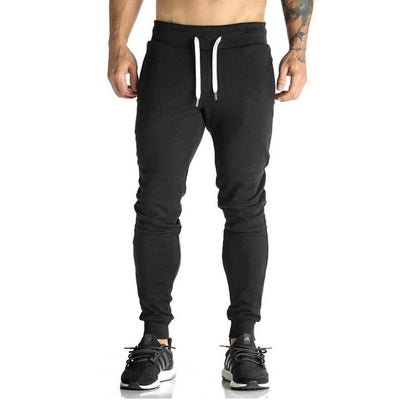 2019 Newest Mens Sweatpants Autumn Winter Man Gyms Fitness Bodybuilding Joggers Workout Trousers Men Casual Cotton Pencil Pants