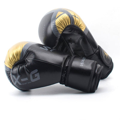 HIGH Quality Adults Women/Men Boxing Gloves Leather MMA Muay Thai Boxe De Luva Mitts Sanda Equipments8 10 12 6OZ