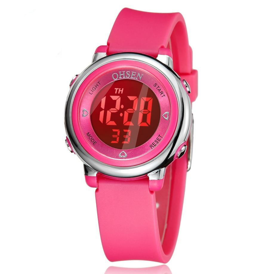 Children Kids Watches Girls Boys Watches Analog Digital Sport Led Electronic Waterproof Wrist Watch New Montre Enfant Watches