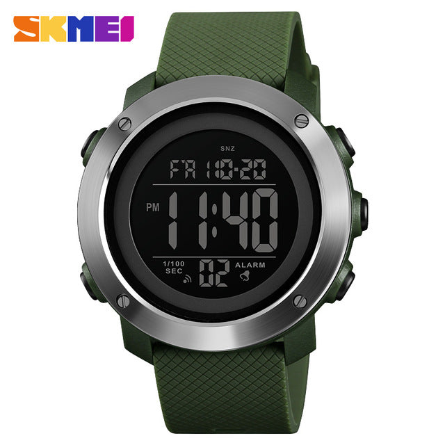 The Cheapest Price Skmei Compass Top Brand Luxury Mens Wristwatches Led Digital Sports Watch Men Military Watches Compass Montre Homme Reloj Hombre Men's Watches Watches