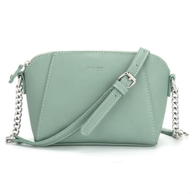 f6e5f411212 DAVIDJONES women messenger bags pu leather female crossbody bags small lady  chain shoulder bag girl brand