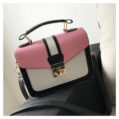 2019 New Women Bag Stylish Handbag With Matching Colors Women Messenger Bags Women's Pouch Evening Party Package Handbags