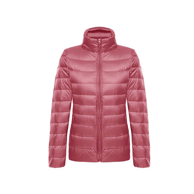 5dc44391d8280 Down jacket women hooded 95% duck down coat Ultra Light warm large size  Female Solid
