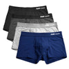 4pc/lot XXXL Boxer Boxershorts Men Boxers Underwear Short 2018 Fashion Boxeador de los hombres Cueca Boxer Cotton u13