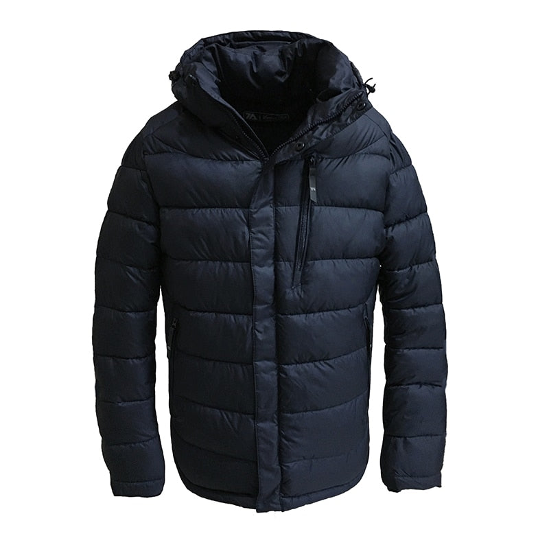 8eafe7f8e4c4 2019 New Winter Jacket Men Polyester Padded Jackets Puffer Jacket Bio-based  Cotton Hooded Warm