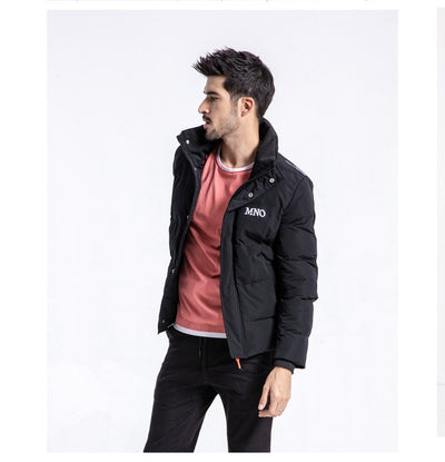 bda62d4f35569 SIMWOOD Winter New Slim Fit Short Puffer Jacket Men Stand Collar Parka  Fashion High Quality Clothes