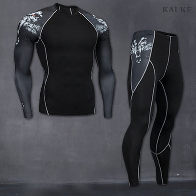 Thermal Underwear For Men Male Thermo Clothes Long Johns Thermal Tights Winter Long Compression Underwear Quick Dry