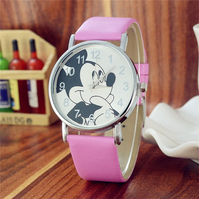 Children's Watches Cartoon Football Style Children Students Girls Boys Nylon Strap Waterproof Quartz Wrist Watch 04