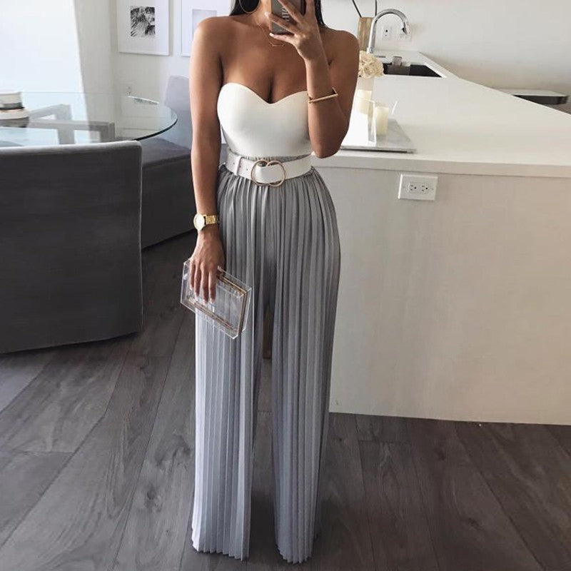 b6f5c832dae Slaygirl Sexy Rompers Womens Jumpsuit Casual V Neck Straight Bodycon  Jumpsuit For Women 2019 Chiffon Female