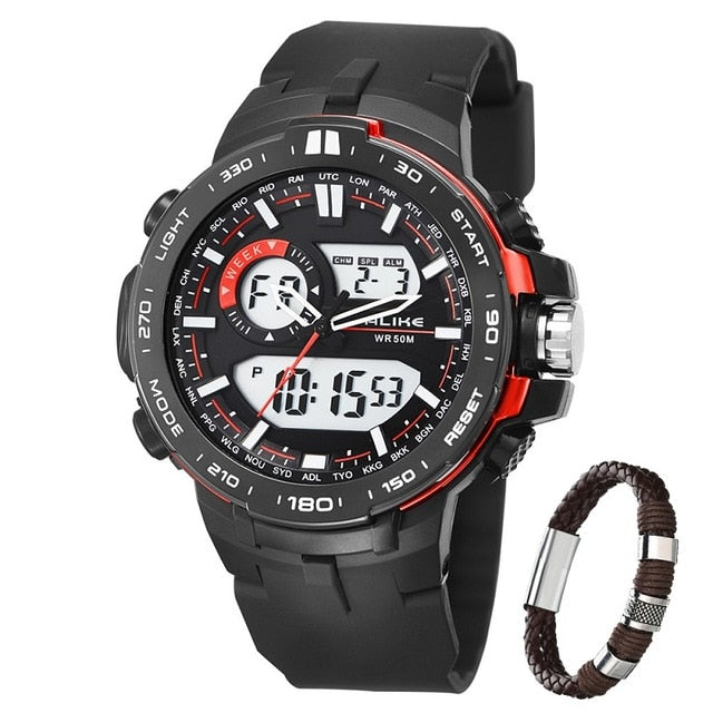 New Brand Alike Casual Watch Men G Style Waterproof Sports Military Watches Shock Mens Luxury Analog Digital Quartz Watch Watches