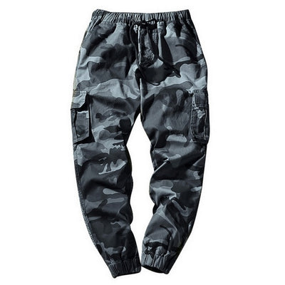 LOMAIYI M-7XL Mens Joggers Pants Men Camouflage Cargo Pants Male Jogger 2019 Spring Camo Pants Men's Trousers With Pockets BM279