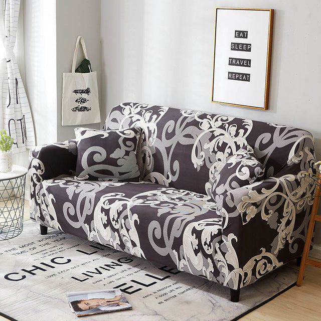 Swell Stretch Sofa Cover Slipcovers Elastic All Inclusive Couch Case For Different Shape Sofa Loveseat Chair L Style Sofa Case 1Pc Andrewgaddart Wooden Chair Designs For Living Room Andrewgaddartcom