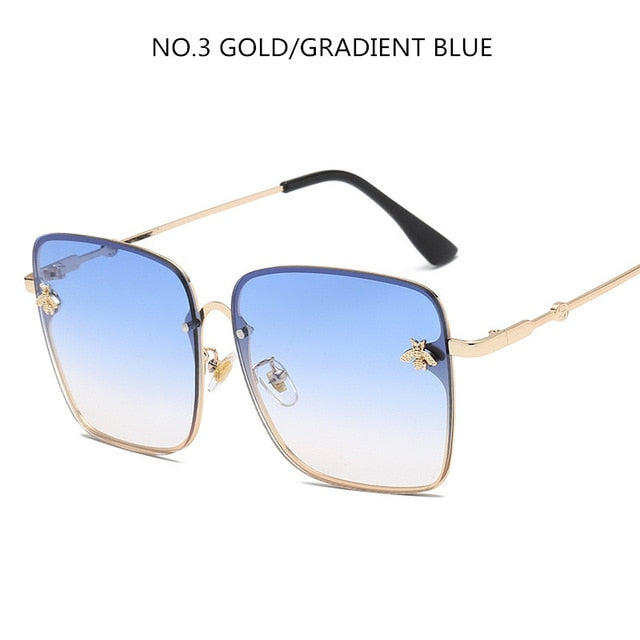 ac44798a54 2019 Oversize Square Sunglasses Men Women Celebrity Sun Glasses Male  Driving Superstar Luxury Brand Designer Female