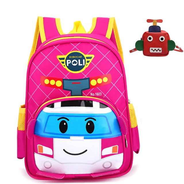 3D 3-6 Year Old School Bags For Boys Waterproof Backpacks Child Spiderman  Book bag f9339364bfa68