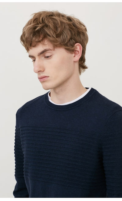 SELECTED think rider round collar leisure men sweater sweater S | 418124537
