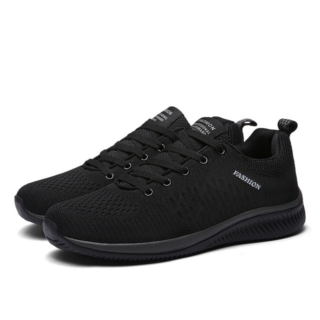 New Mesh Men Casual Shoes Lac-up Men Shoes Lightweight Comfortable  Breathable Walking Sneakers Tenis 1a231f345c2d