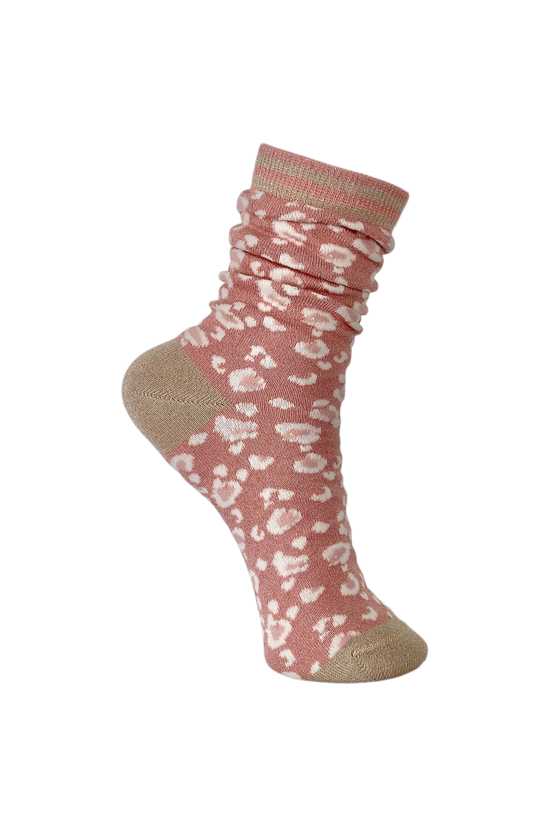 Leo Socks Old Rose