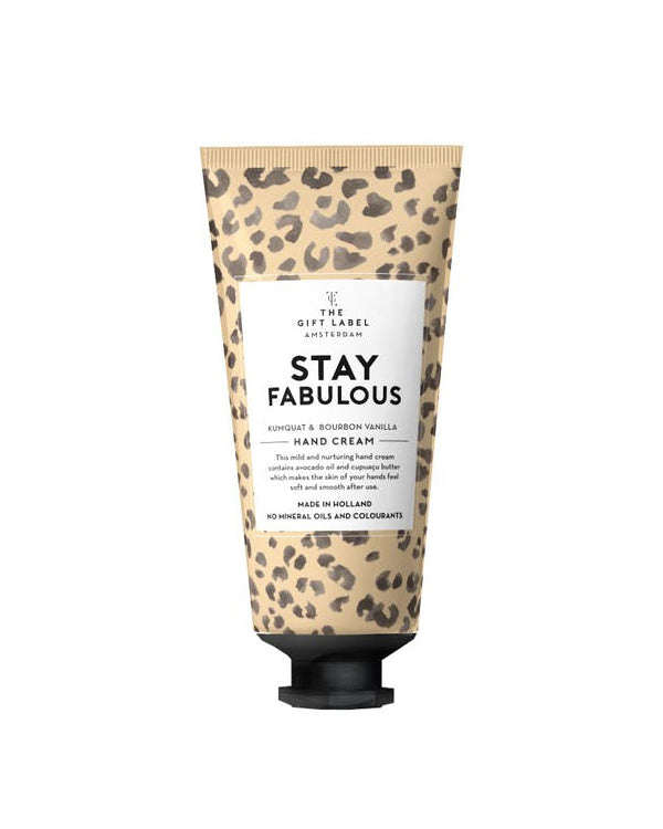 Stay Fabulous Hand Cream Tube