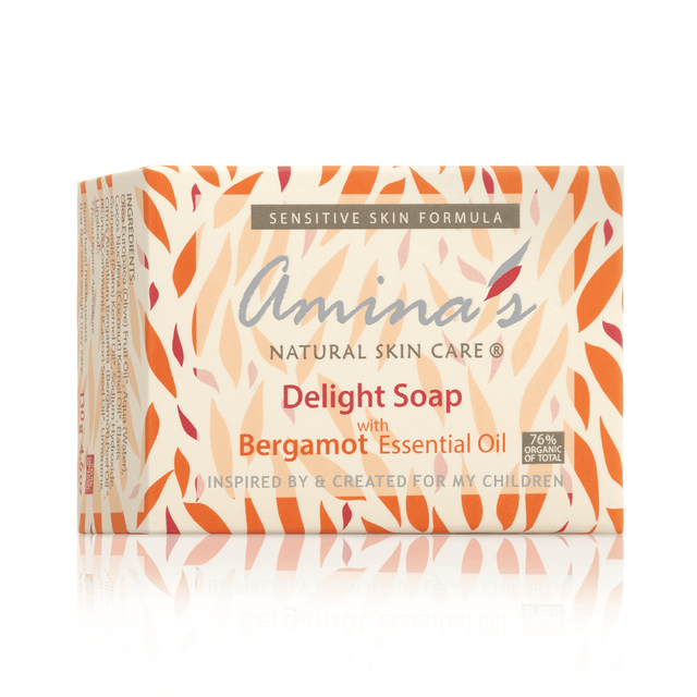 Amina's Delight Soap With Bergamot Scent