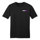 PokerGO Word Card Black T-Shirt