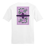 PokerGO Word Card White T-Shirt