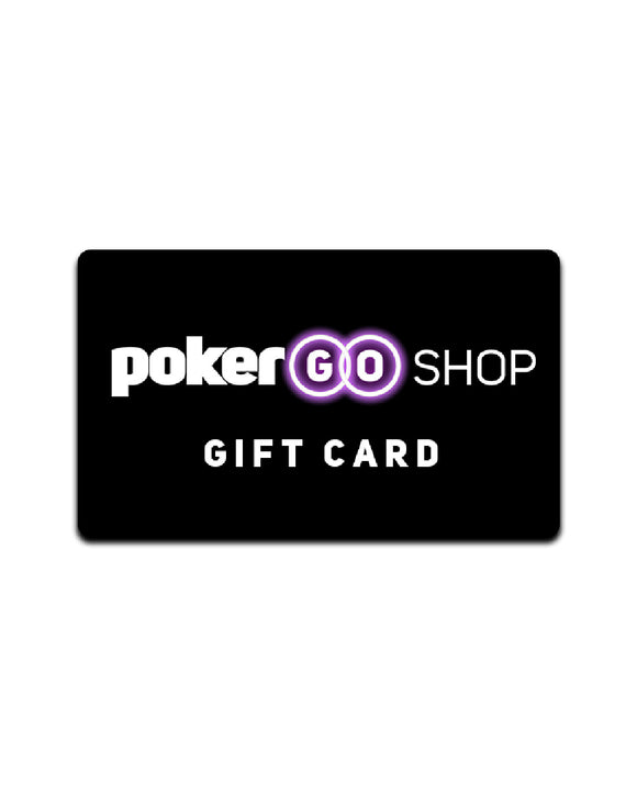 PokerGO Shop Gift Card