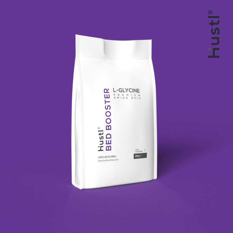 Hustl® 'Bed' Booster Glycine - 250g