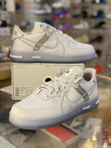 White Light Bone Nike Air Force 1 React Size 9.5