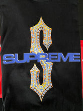 Load image into Gallery viewer, Brand new Black Supreme Diamond Tee Size Large