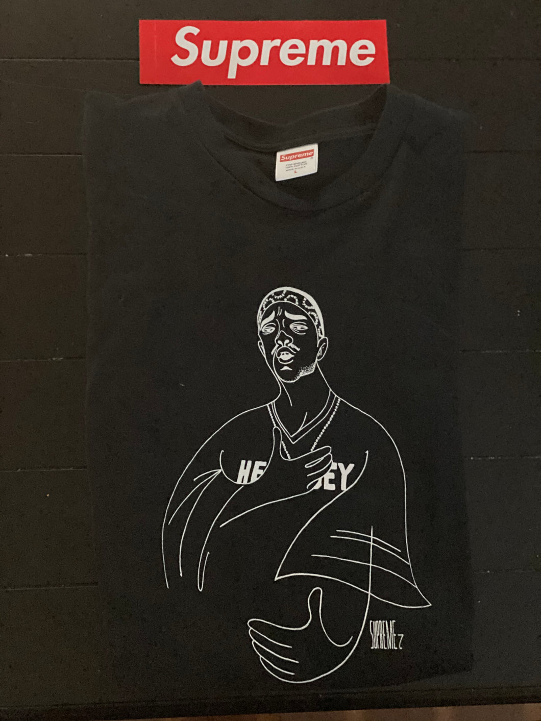 Brand new Black Supreme Prodigy Tee Size Large