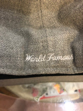 Load image into Gallery viewer, Heather Grey Supreme World Famous Cap