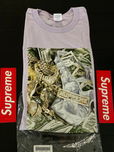 Load image into Gallery viewer, Brand new Light Purple Supreme Bling Tee Size Xlarge