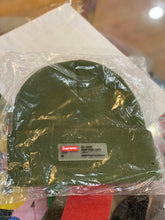 Load image into Gallery viewer, Brand new Olive Supreme Clear Label Beanie